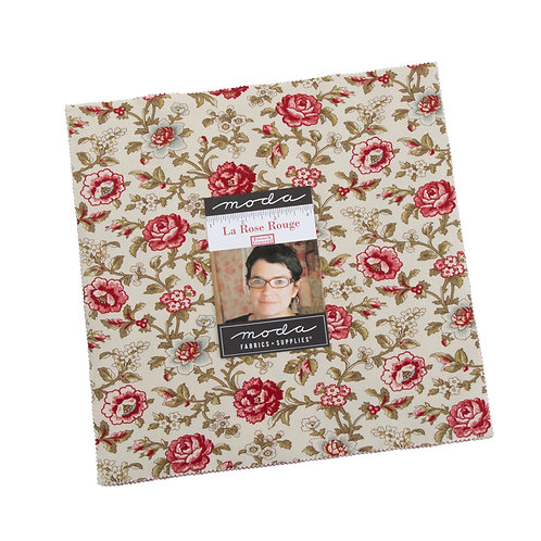 La Rose Rouge Layer Cake by French General for  Moda Fabrics