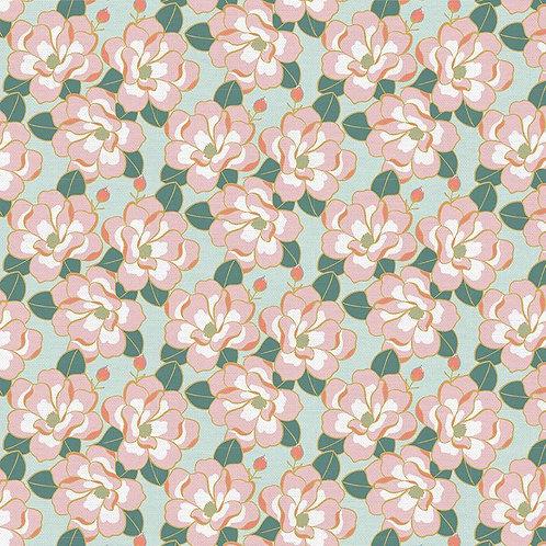 Magnolia Wonderland Magnolia Mint By Teresa Chang for Paintbrush S