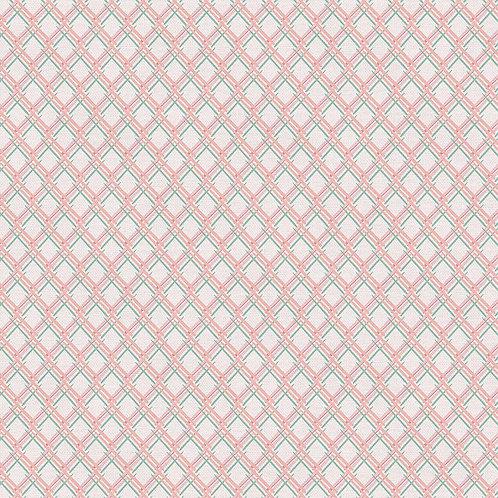 Magnolia Wonderland Pink Mosaic By Teresa Chang for Paintbrush Studio