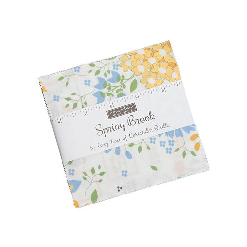 Spring Brook Charm Pack by Corey Yoder for Moda Fabrics