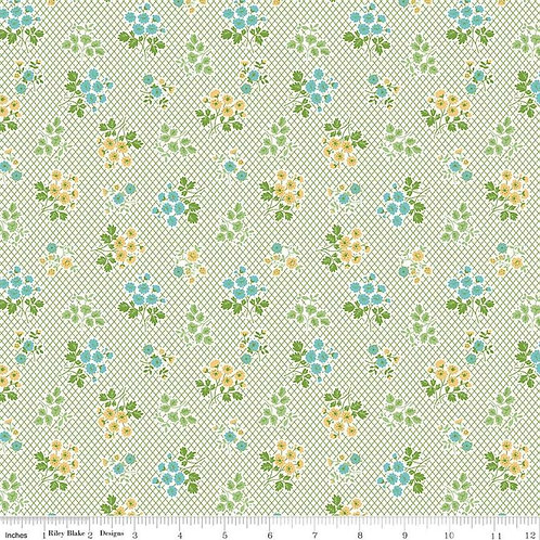 Granny Chic Bouquet Green