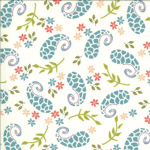 Balboa  Marina Ivory By Sherri and Chelsi for Moda Fabrics