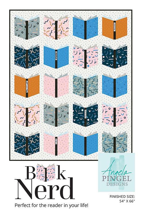 Book Nerd Quilt Pattern by By Angela Pingel