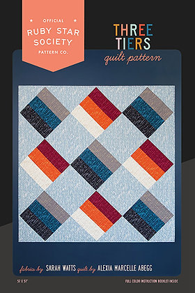 Three Tiers Quilt Pattern by Ruby Star Society