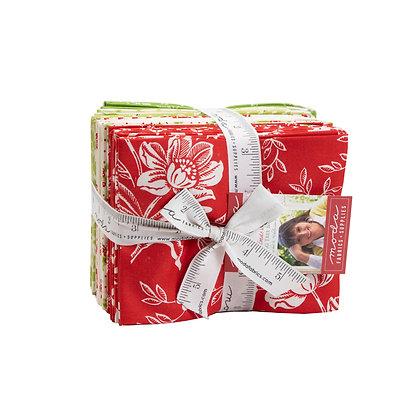 Christmas Fig II Fat Quarter Bundle By Fig Tree co. for Moda Fabrics