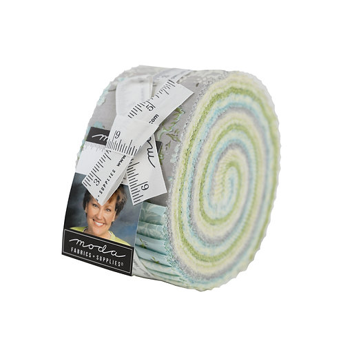 Dover Jelly Roll By Brenda Riddle Designs for Moda Fabrics