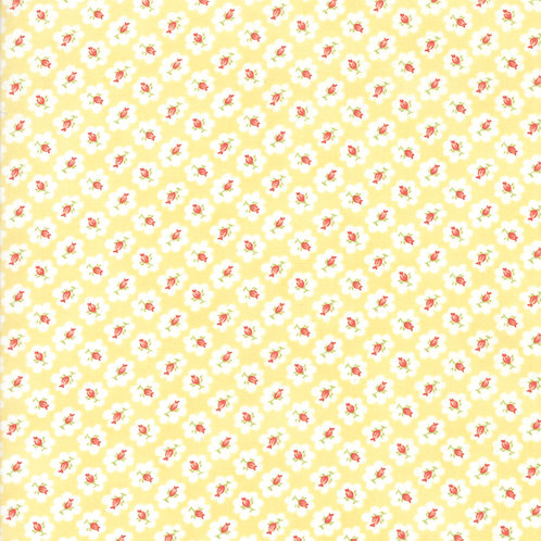 Catalina Sunshine Cotton Blossom  Yardage By Fig Tree Quilts