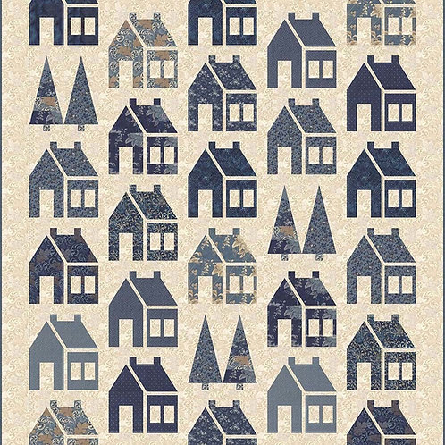 Blue Barn Quilt Pattern By Laundry Basket Quilts