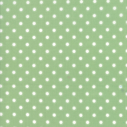 Bloomington Sage Parisian Dot By Lella Boutique for Moda Fabric