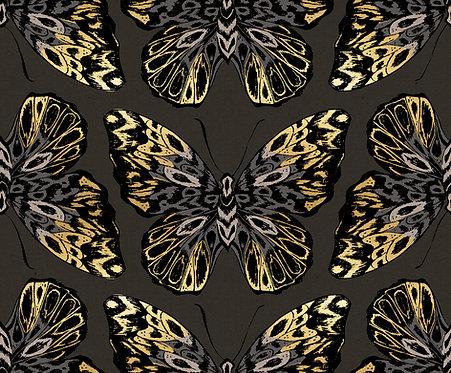 Tiger Fly Metallic Ash By Sarah Watts
