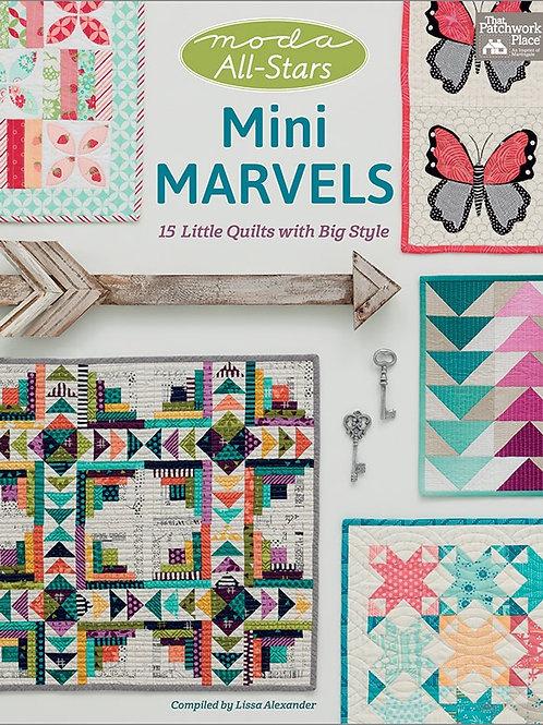 Mini Marvels Quilt Book Moda All Stars #B1402