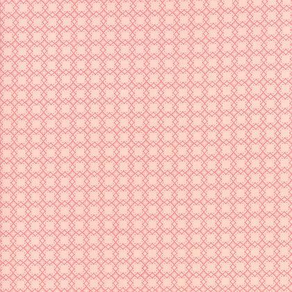 Bloomington Posie Pink Mini Latice By Lella Boutique for Moda Fabric