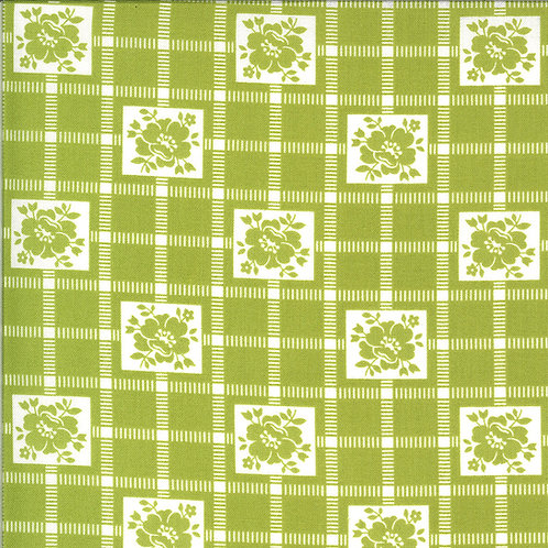Shine On  Check Green by Bonnie and Camille for Moda Fabrics