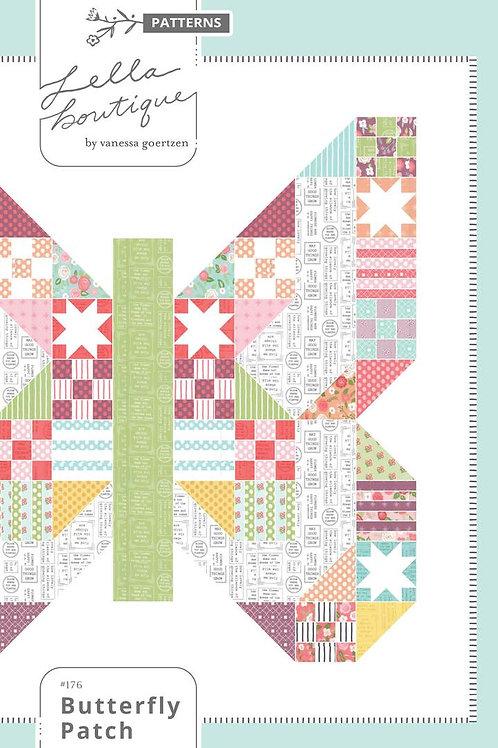 Butterfly Garden Pattern by Lela Boutique