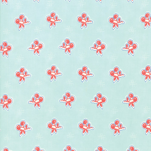 Catalina Sea Glass Cherry  Yardage By Fig Tree Quilts