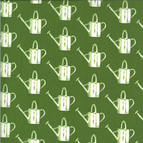 Homestead Watering Can Leaf By April Rosenthal For Moda Fabrics