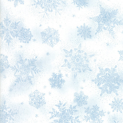 Forest Frost Glitter Fav Icicle By Moda Fabrics