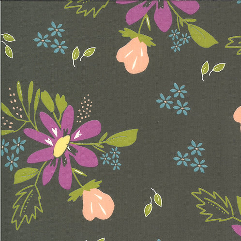 Balboa Coastal Charcoal By Sherri and Chelsi for Moda Fabrics