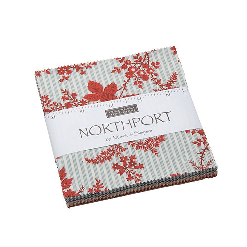 Northport Prints Charm Pack By  Minick & Simpson