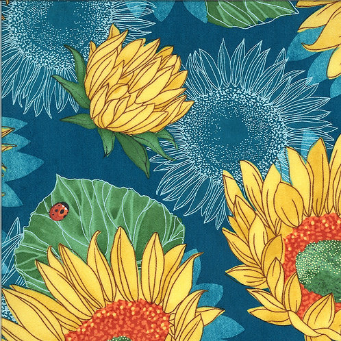 Solana | Sunflowers Horizond by Robin Pickens for Moda Fabrics