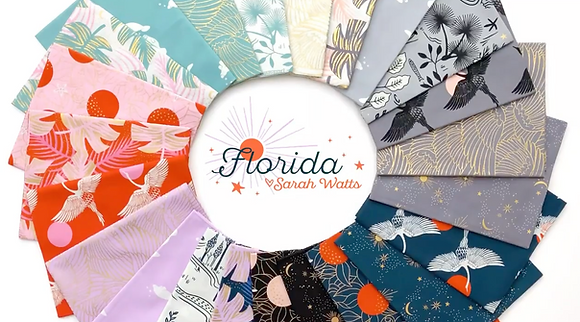 Pre-Order Florida Fat Quarter Bundle By Sarah Watts for Ruby Star Society