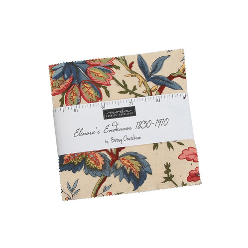 Elinores Endeavor Charm Pack By Betsy Chutchian For Moda Fabrics