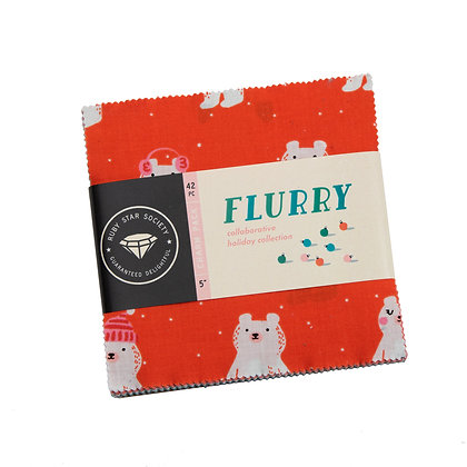 Flurry Charm Pack by Ruby star Society