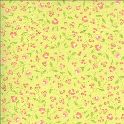 Apricot & Ash Light Lime   By Corey Yoder for Moda Fabrics