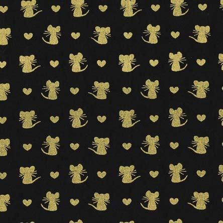 Glitters |Nice Mice Black