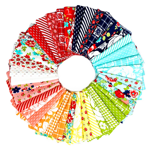 Shine On Fat Quarter Bundle by Bonnie and Camille for Moda Fabric