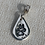 Thumbnail: Personalised Silver Pet Print Charms