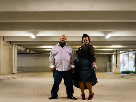 Eli & Shanelle/ Love in a Parking garage