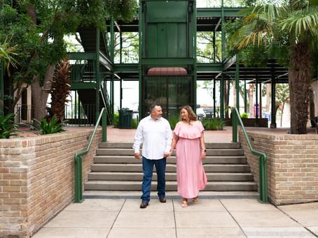 Regina and Rene's Engagement Session/ San Antonio, TX