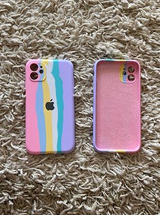 Capa Candy Colors de  silicone para celular