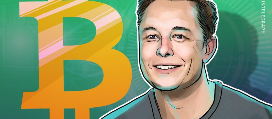 'Eu não vendi nenhum dos meus Bitcoins', diz Elon Musk