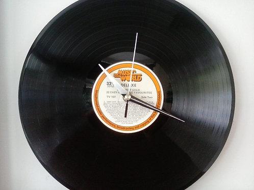 copia de Vinyl Clock