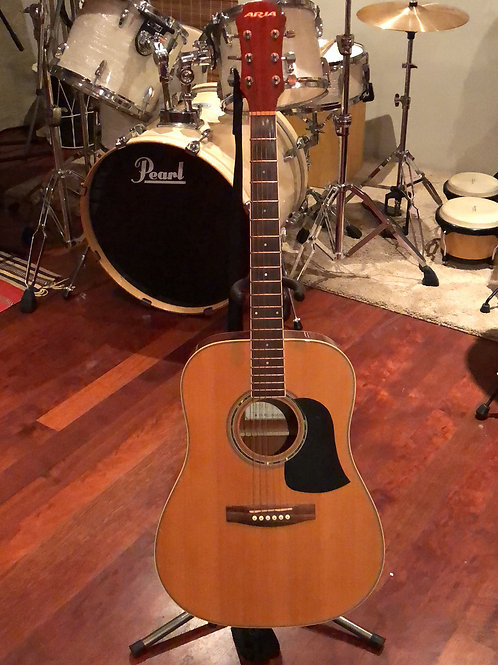 Electric guitar & acoustic Aria