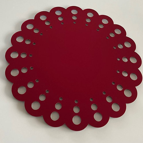 """Dots"" Mirror Placemat"