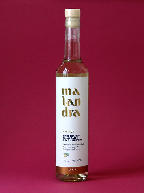 Malandra Oak                                 (500mL, 40%vol., 91,98/L)