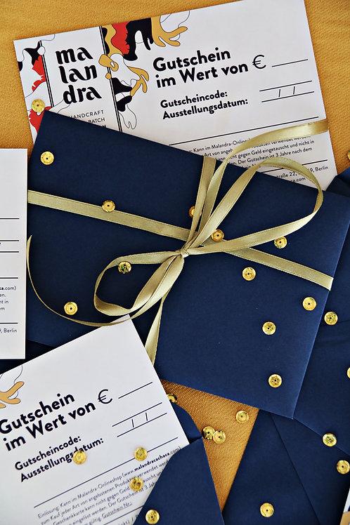 20€ Geschenkgutschein