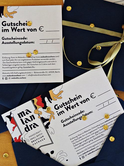 45€ Geschenkgutschein