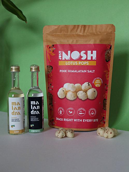 Malandra Tasting Set & JustNosh Himalayan Salt