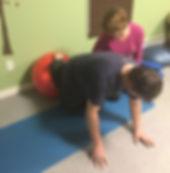 Radical Core Rehab Quad Stretch