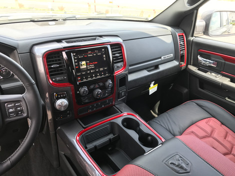 Black and Red RAM Interior