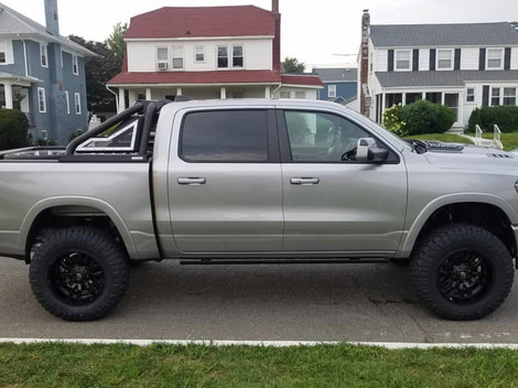Lifted Silver Ram