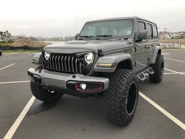 Nichole's Sting Gray Jeep - 2018