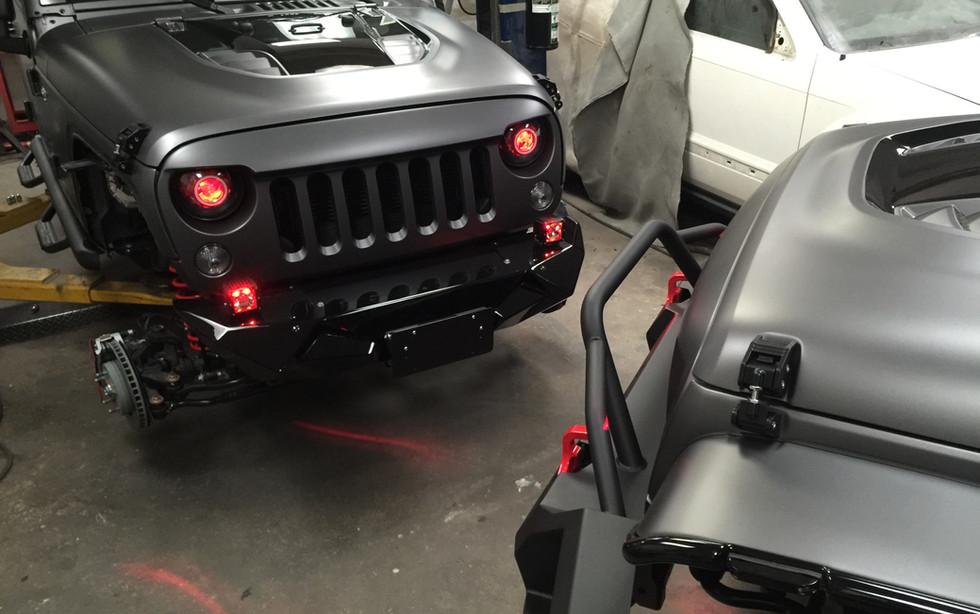 Matte Jeep