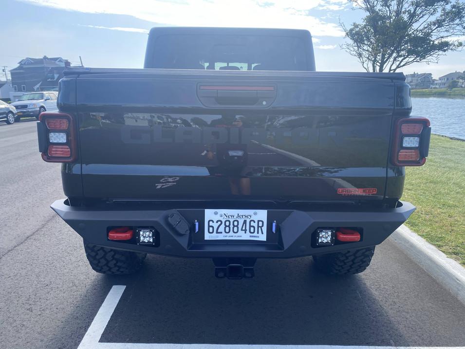 Black & Red Jeep Gladiator