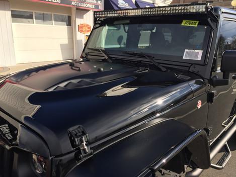Black Widow Jeep Wrangler