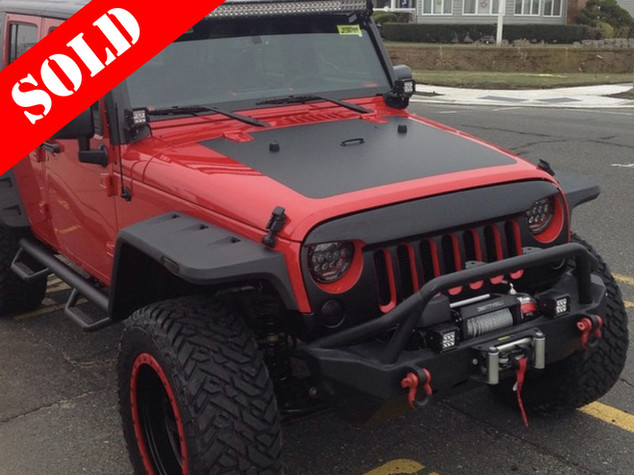 Red & Black Wrangler